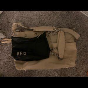 BEIS BEIGE DIAPER BAG